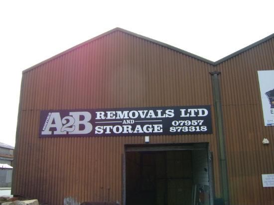 A2B Removals Company Depot