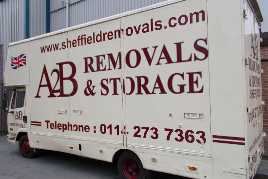 a2b house removals company in sheffield