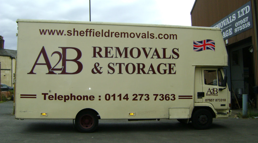 About A2B Sheffield removals company
