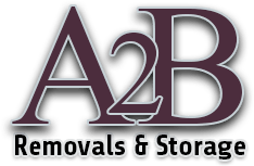A2B Removals Company Sheffield Logo