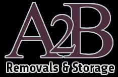 A2B Removals Company Sheffield Logo