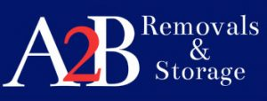 a2b house removals sheffield logo
