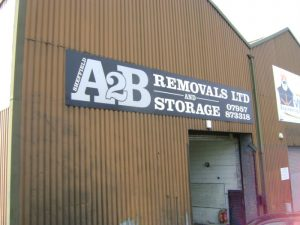 a2b removals storage sheffield