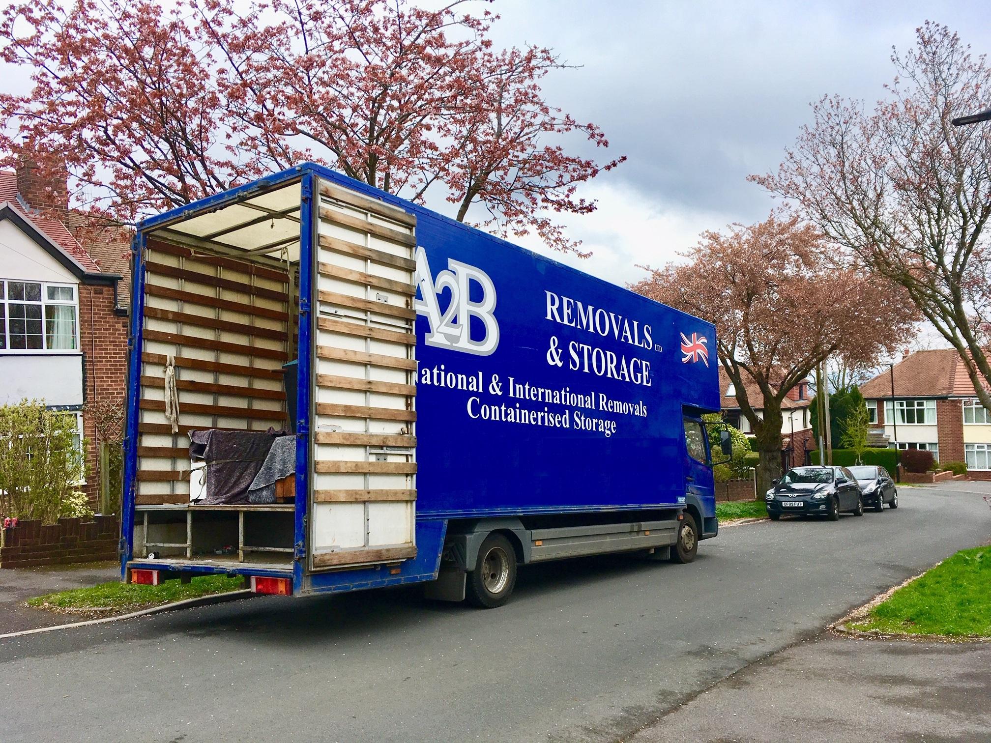 A2B Removals Sheffield